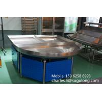 China Metallic Supermarket Vegetable Display Shelves , Fruit And Vegetable Shelving on sale