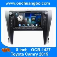 Ouchuangbo car dvd gps radio  Toyota Camry 2015 support iPod USB swc Russian menu