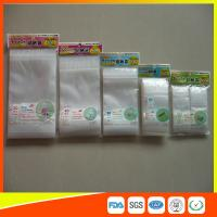 Resealable Clear Packing Ziplock Bags , Grip Seal Strong Ziplock Bags For Packing