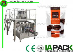 China Coffee beans Stand-Up Zip Bag Packing machine Rotary Packing Machine With Multi-head Scale on sale