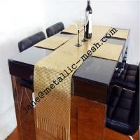 3-10mm flake metal sequin fabric for table cloth