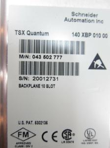 140XBP01000 Used Excellent Modicon 10 Slot Backplane 140-XBP-010-00