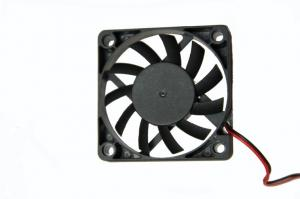 China 60 × 60 × 15 mm 12V DC Computer Case Cooling Fan / High Air Flow Axial Cooler Fan on sale
