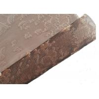 Metallic Mesh Lamination Architectural Glass Is For Decorative Mirror Wall