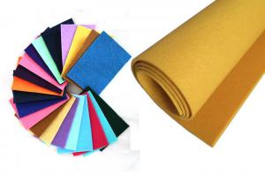 China Industrial High Quality Plain Polyester Felt Sheets on sale