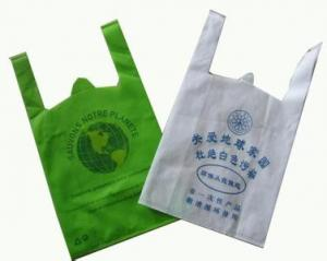 China Recycled Reusable Shopping Bags Transparent , Clear Plastic Merchandise Bags on sale