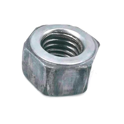 OEM SS316 Hex Head Nuts , White Zinc Plated Iron Metric Nut