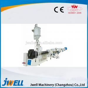 China Jwell HDPE Water Supply/ Gas Pipe Plastic Profiles on sale