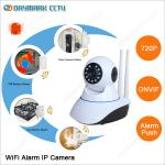 IP Camera Wireless Security System Work with Door Sensors