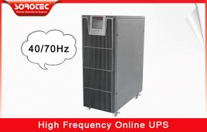 China 6KVA / 5.4W 220VAC High Frequency Online UPS / Uninterrupted Power Supply on sale