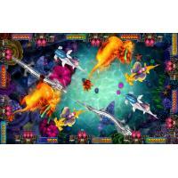 Customized Fish Game Arcade Machine Software , Fire Kirin Plus Original Fish Gambling Machine