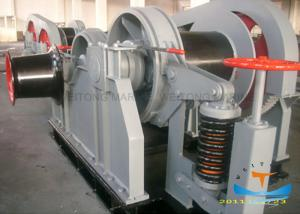 China Ship Deck Equipment Marine Electric Winch Perfect Starting 5-2000 KN Rated Pull on sale