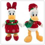 Disney Christmas Donald Duck and Daisy For Holiday Promotion