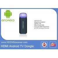 China Nand Flash 8GB Android Smart IPTV Box Smart TV Dongle Full 1080P Resolution on sale
