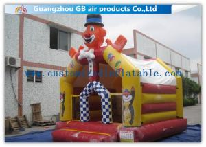 China Outdoor Inflatable Clown Bouncer Jumping Inflatable Bouncy Castle For Kids Play on sale