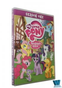 China 2018 newest My Little Pony Friendship Is Magic Season 1 cartoon DVD movies Children dvd tv series kids movies hot sell on sale