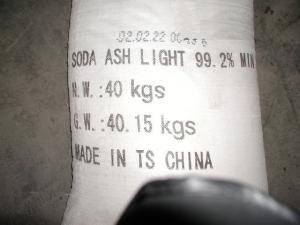 China ソーダ灰、炭酸ナトリウム、サラソウジュ、密なソーダ灰 on sale