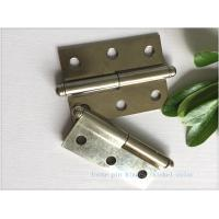 Ball Tip Nickel Plated Commercial Door Hinges Detachable Movable