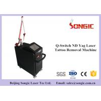 Professional Q Switched ND YAG Laser Pigment Removal Machine 1064nm & 532nm