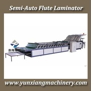 China Semi Flute Laminator |FLUTE LAMINATOR| on sale