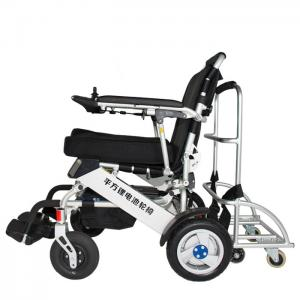 China Brushless Motor CE 36km Lithium Battery Wheelchair on sale