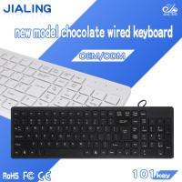 Stock Products Status and Standard Style chocolate usb laptop keyboard