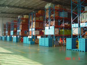 China Warehouse Large Scale Racking 10 Years Warranty / Durable Steel Pallet Racking on sale
