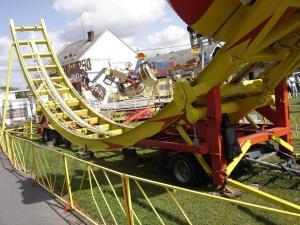 China Fashionable Flying UFO Roller Coaster Amusement Park Equipment tagada on sale
