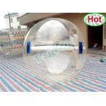 2m の直径ポリ塩化ビニール膨脹可能な水球は/ドイツ ジッパーが付いている明確な水歩く球をカスタマイズしました