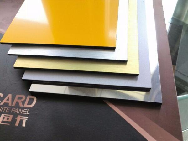 Glossy Aluminum Composite Panel interior designing Living room home ...