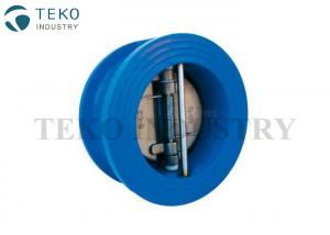 China Ductile Iron GGG40 Wafer Check Valve , Dual Plate Wafer Type Check Valve For Water on sale