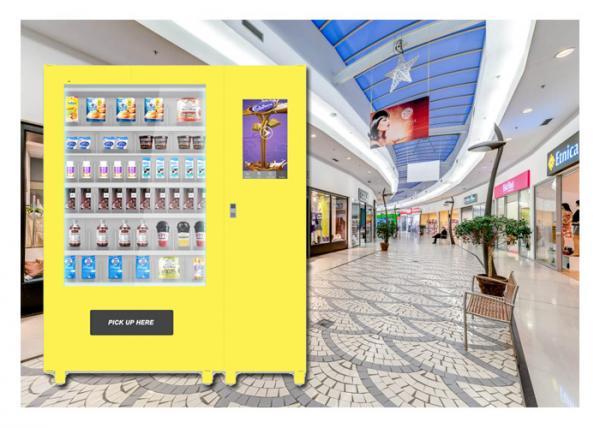 Park Supermarket Food Vending Machine Customize Biscuits
