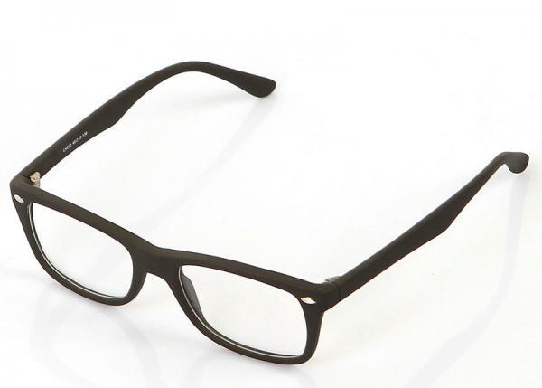 Plastic Adjusting Eyeglass Frames / Presbyopic Glasses Black Square ...