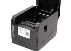China Impressoras portáteis sem fio da etiqueta, definição térmica das impressoras 203DPI do código de barras do Desktop on sale