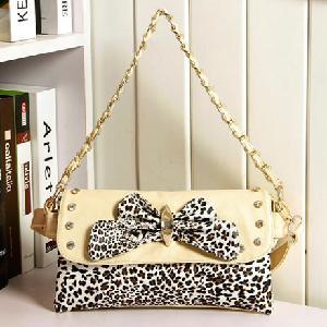 China Lady Fashion Handbags Leopard Bag (S730) on sale