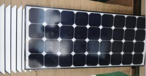 Quality A Grade 120W solar panel high efficiency Strong Weather Resistant for sale