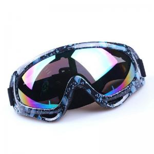 China Polarized Coolest Motocross Goggles With UV400 Protection Logo Customized on sale
