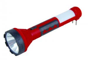 China 5 WATT Rechargeable Torch Light Long Distance Flashlight ABS Material on sale