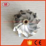 T04B 51.65/69.96mm 11+0 blades 409179-0023 14201-Z5601 Turbo Aluminum 2024 /Billet/milling compressor wheel