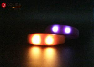 China Promotional Party Reflective Flashing Armbands Sound Activated Led Bracelet For Running on sale