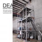 OEM Fractional Distillation Lab Equipment , Industrial Molecular Distillation Plant