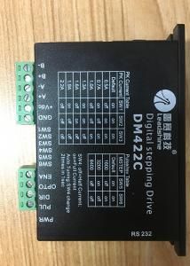 China DM422 Digital Low Voltage Stepper Motor Driver With Low Noise , Black Color on sale