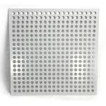 Galvanized All Colors Perforated Metal Sheet Customized Hole Shapes And Sizes