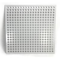 Aluminum Square Hole Perforated Metal Sheet For Room Division