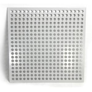 China Galvanized All Colors Perforated Metal Sheet Customized Hole Shapes And Sizes on sale