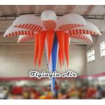 3m Hanging Inflatable Flower for Wedding and Exhibition Decoration