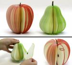 Cute Personalized Memo Pads , 3D Fruit Shape Custom Personalized Notepads