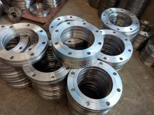 China ANSI DIN Stainless Steel Forged Casting Slip-on Pipe Flange on sale