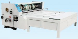 Quality Big Diameter Roller Flexo Printing Slotting Machine / Carton Box Printing for sale