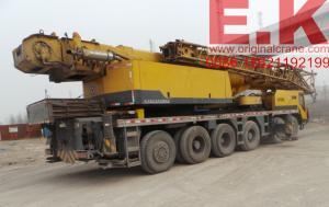 China Chinese Hydraulic crane XCMG100ton mobile Crane (QY100K) truck crane jib crane 130ton on sale